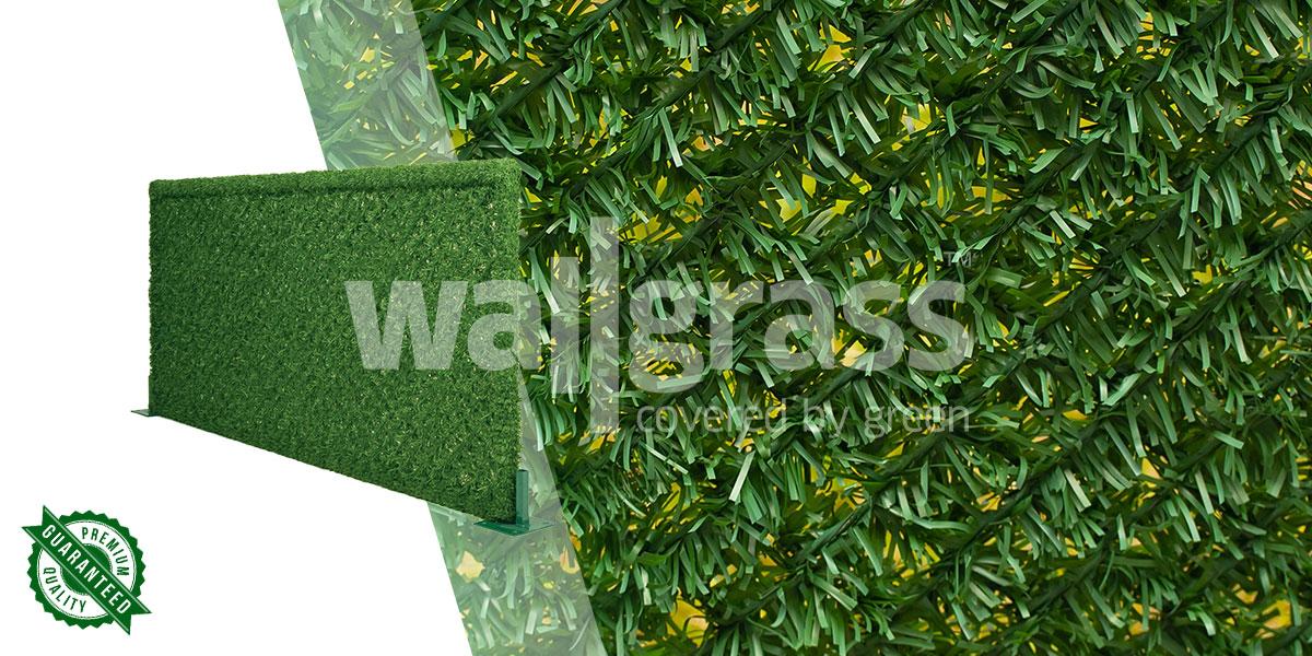 best artificial grass fence
